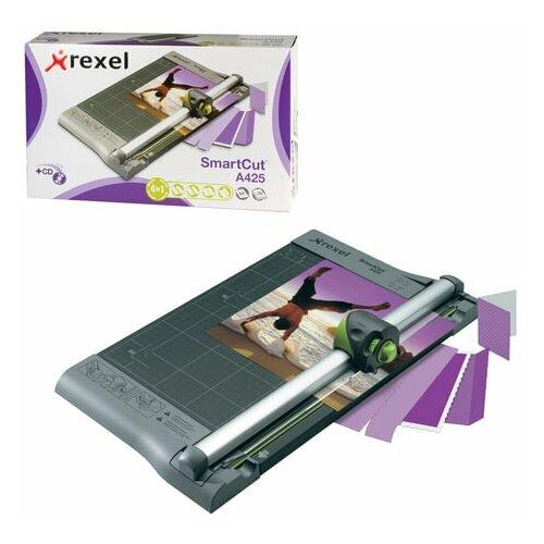 Резак роликовый REXEL A425PROна 10 л длина реза 320 мм 4 стиля резки металлическое основание A4 1 шт.