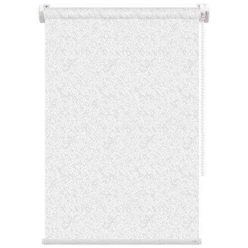 Рулонная штора FixLine Savage (белый), 75х180 см