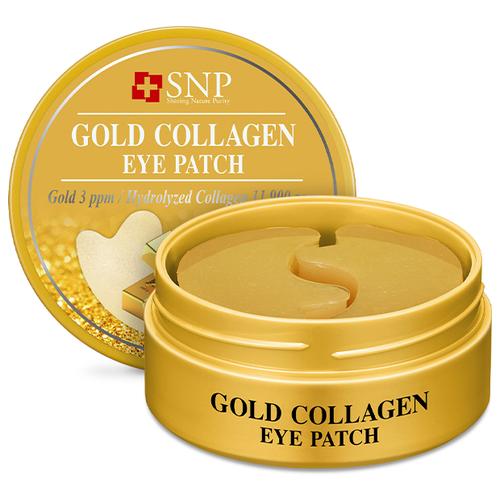 Купить SNP Патчи для глаз с коллагеном и частицами золота Gold Collagen Eye Patch, 60 шт.