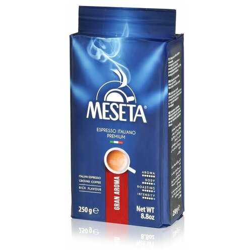 Кофе молотый Meseta Espresso Italiano Gran Aroma, 250 г