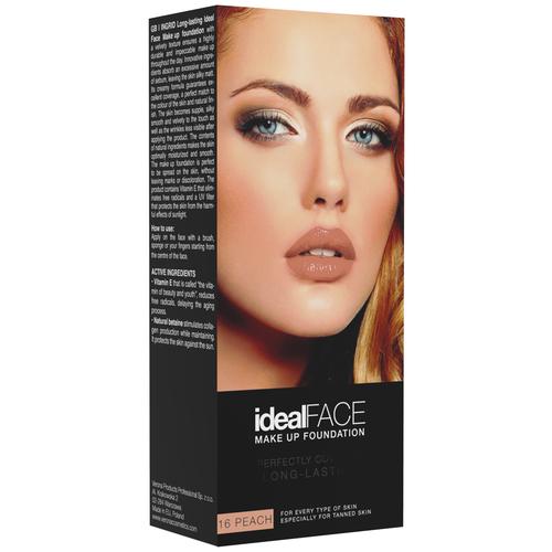 Ingrid Cosmetics Тональный крем Ideal Face, оттенок: 16 peach недорого