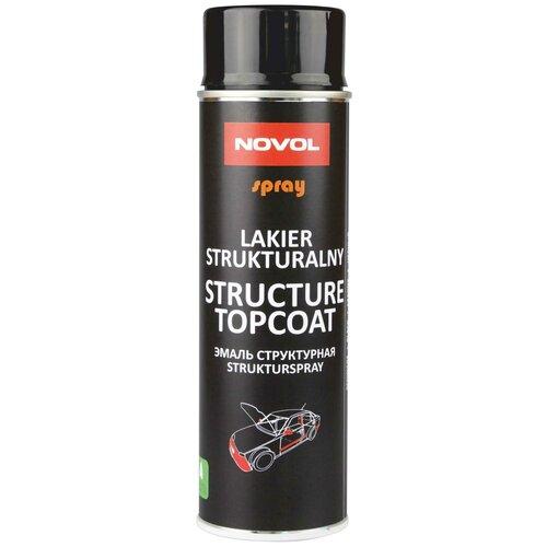 Лак NOVOL Structure Topcoat (черный) 500 мл