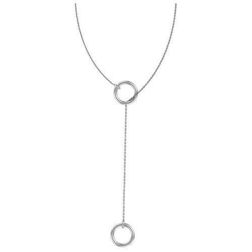 POKROVSKY Серебряное колье 3121129-00245, 50 см, 3.44 г