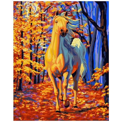 Купить Картина по номерам ФРЕЯ Сказочный лес 40х50 см, Картины по номерам и контурам