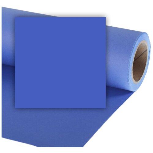 Фото - Фон Colorama Chromablue, бумажный, 2.7 x 11 м фон бумажный colorama ll co531 1 35x11 м maize