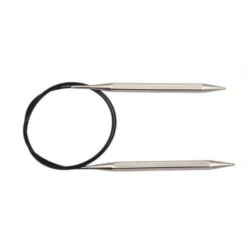 Купить Спицы Knit Pro Nova cubics 12238, диаметр 4.5 мм, длина 120 см, серебристый