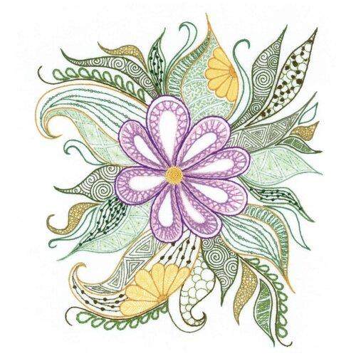 Купить Риолис Набор для вышивания Прекрасный цветок 30 х 34 см (1588), Наборы для вышивания