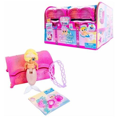 Baby Secrets Merbabes, коллекционная куколка в сундучке с сокровищами, серии Treasure