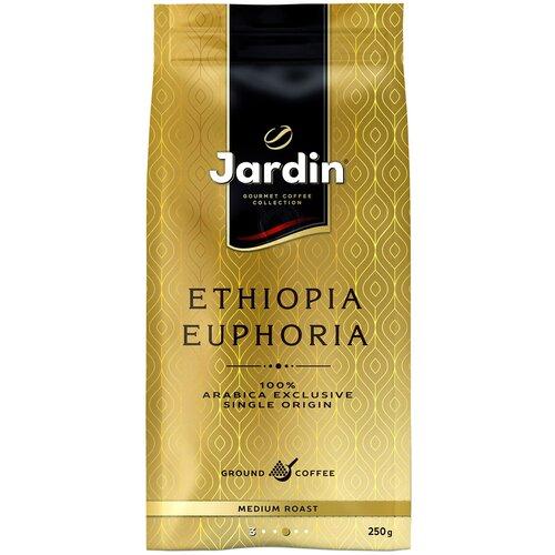кофе молотый jardin dessert cup 250 г Кофе молотый Jardin Ethiopia Euphoria вакуумная упаковка, 250 г