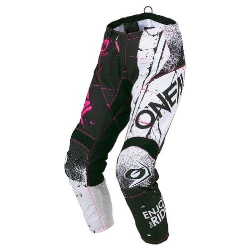 Текстильные мотобрюки O'Neal Element Shred черный/розовый 26 (Размер производителя)