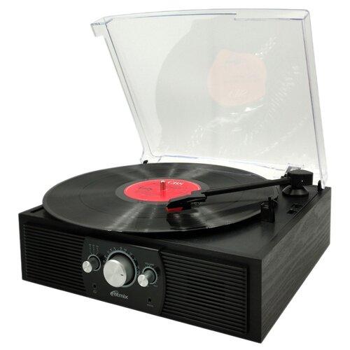 Виниловый проигрыватель Ritmix LP-200B black wood