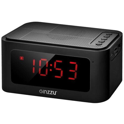 Портативная акустика Ginzzu GM-881B, черный колонка ginzzu gm 881b