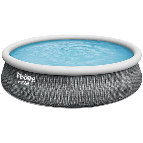 Бассейн Bestway Fast Set 57372 серый
