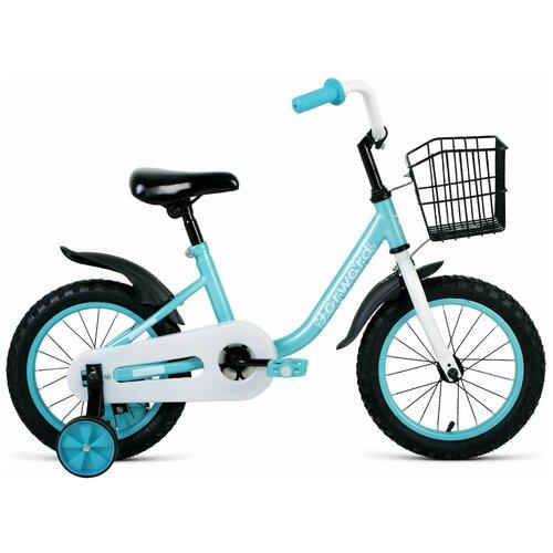 Фото - Детский велосипед FORWARD Barrio 14 (2020) бирюзовый (требует финальной сборки) детский велосипед forward barrio 18 2020 красный требует финальной сборки