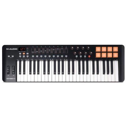 MIDI-клавиатура M-Audio Oxygen 49 MK IV черный