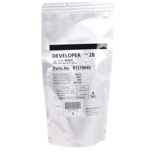 Фото - Девелопер Ricoh type 28 (B1219645) девелопер ricoh developer type mpc3002 d1449670
