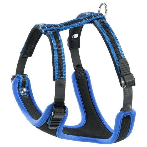 Шлейка Ferplast Ergocomfort P S, обхват шеи 32-42 см, синий