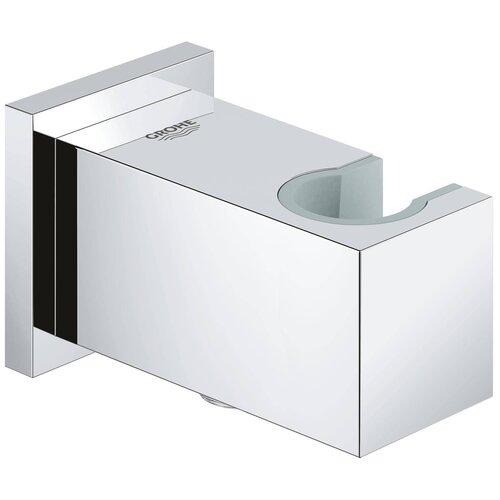 Фото - Подключение для душевого шланга GROHE Euphoria Cube, с держателем, хром (26370000) шланговое подключение grohe euphoria cube 27704000 хром