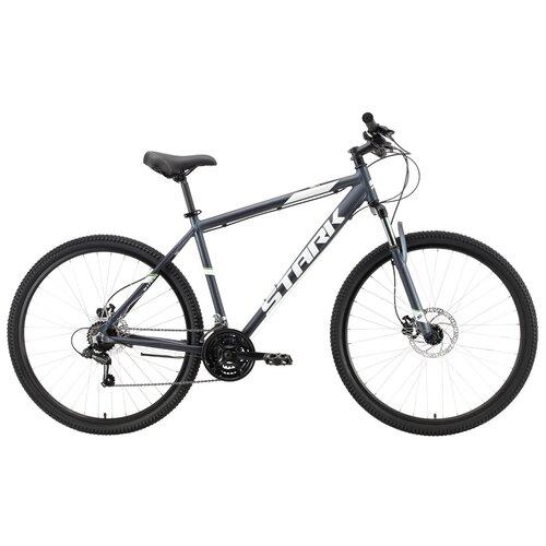 Горный (MTB) велосипед STARK Tank 29.2 HD (2021) серый/белый 20