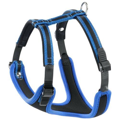 Фото - Шлейка Ferplast Ergocomfort P L, обхват шеи 50-60 см, синий шлейка для собак ferplast ergocomfort p l синяя
