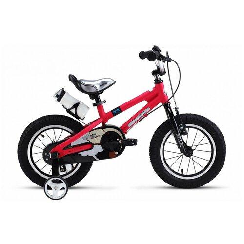 Детский велосипед Royal Baby RB12B-7 Freestyle 12 Alloy красный (требует финальной сборки) двухколесные велосипеды royal baby freestyle space 1 alloy 14