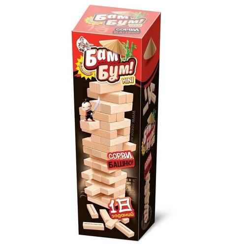 Фото - Игра для детей и взрослых Бам-Бум mini (падающая башня) настольная игра десятое королевство бам бум кроко 04101