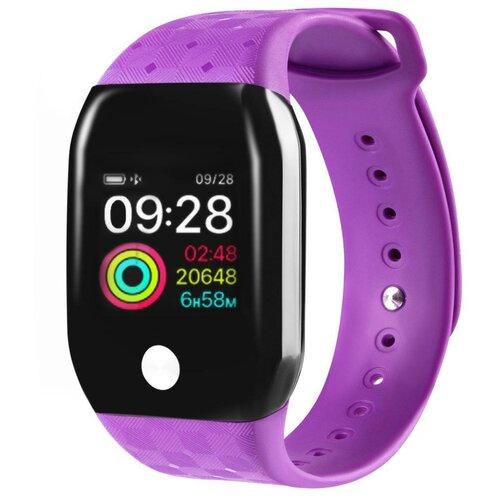 Умные часы GSMIN A88+ (2019), фиолетовый