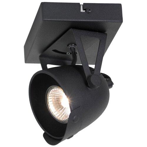 Фото - Спот Lussole Montgomery LSP-9505, кол-во ламп: 1 шт., цвет арматуры: черный, цвет плафона: черный спот lussole lsp 9505