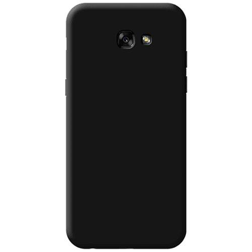 Силиконовый чехол черный Samsung Galaxy A7 2017