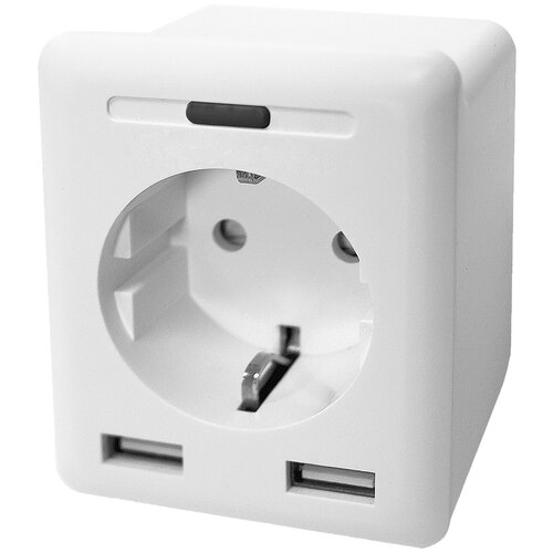 Умная розетка Digma DiPlug 400 EU Wi-Fi белый (TY1932) digma diplug 400 eu ty1932 white