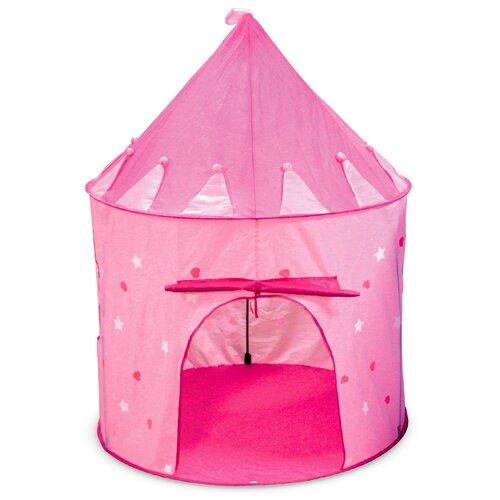 Игровой домик ФЕЯ ПОРЯДКА CT-085 Замок Белоснежки розовый, 105*h135см, текстиль