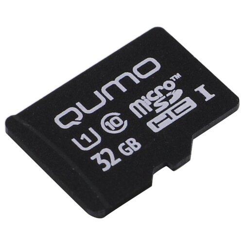 Карта памяти Qumo microSDHC class 10 UHS-I U1 32 GB, чтение: 90 MB/s