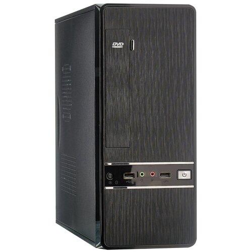 Компьютерный корпус ExeGate MS-305 300W Black компьютерный корпус powerman ps201 300w black