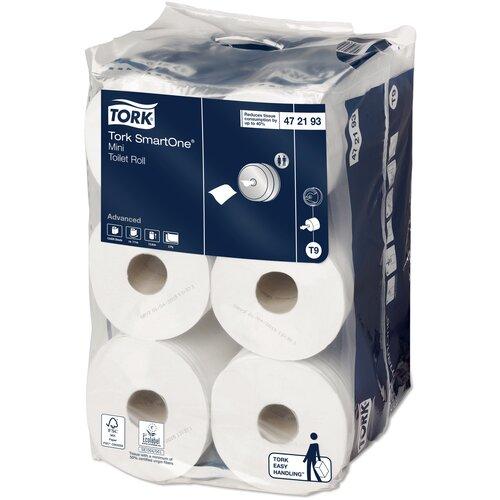 туалетная бумага tork advanced 120231 12 рул Туалетная бумага TORK SmartOne mini advanced 472193 12 рул.