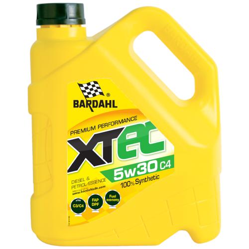 Синтетическое моторное масло Bardahl XTEC 5W-30 C4, 4 л по цене 2 891