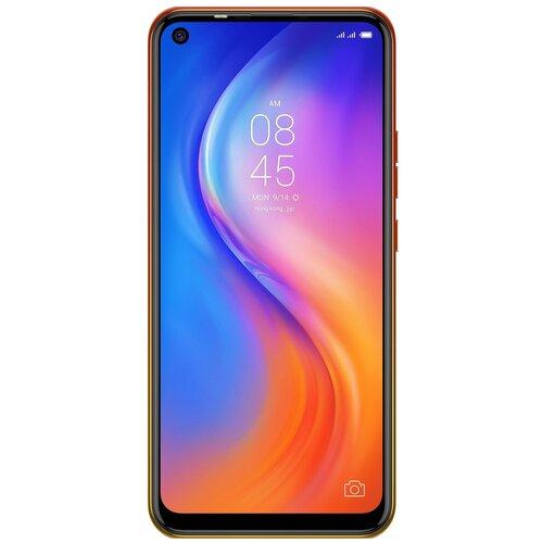 Смартфон TECNO Spark 5 оранжевый