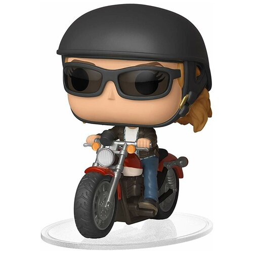 Фигурка Funko POP! Rides: Captain Marvel - Кэрол Денверс на мотоцикле 36418 фигурка funko pop rides speed racer спиди на машине 45098