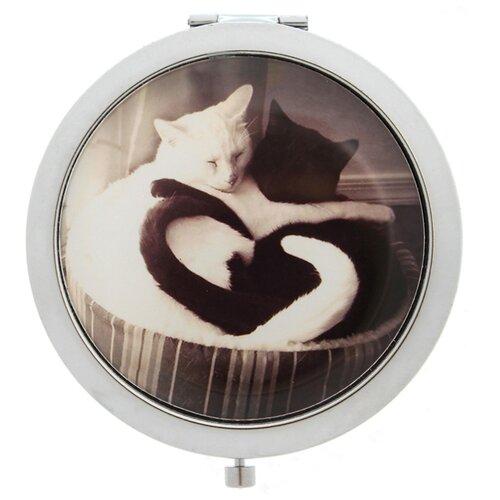 Купить Карманное зеркальце TINA BOLOTINA Кошки