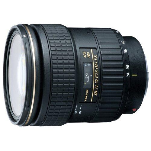 Фото - Объектив Tokina AT-X 24-70mm f/2.8 PRO Aspherical SD (IF) FX Canon EF dj контроллер numark mixtrack pro fx