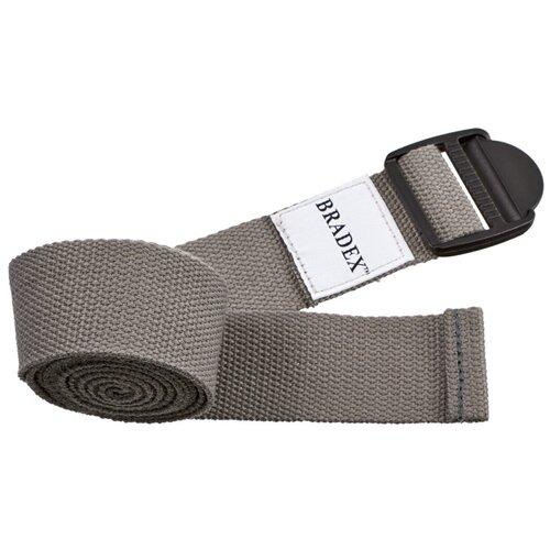 Фото - Ремень для йоги BRADEX SF 0410/SF 0411/SF 0412 серый блок для йоги bradex sf 0407 sf 0408 sf 0409 серый