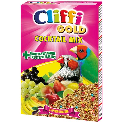 Cliffi корм Gold Cocktail Mix Esotici для экзотических птиц 300 г