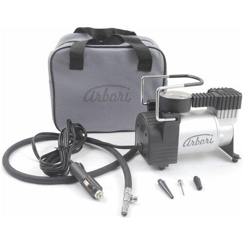 Автомобильный компрессор Arbori S.735 черный/серебристый