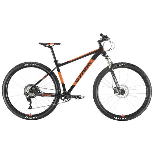 Горный (MTB) велосипед STARK Krafter 29.8 HD SLX (2020) черный/оранжевый 20
