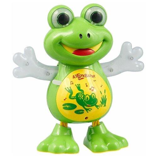 Купить Развивающая игрушка Азбукварик Танцующая лягушка, зеленый, Развивающие игрушки