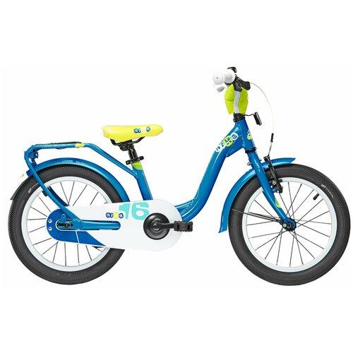 Фото - Детский велосипед S'cool Nixe 16 (2016) blue/yellow (требует финальной сборки) велосипед haibike affair 8 70 2016