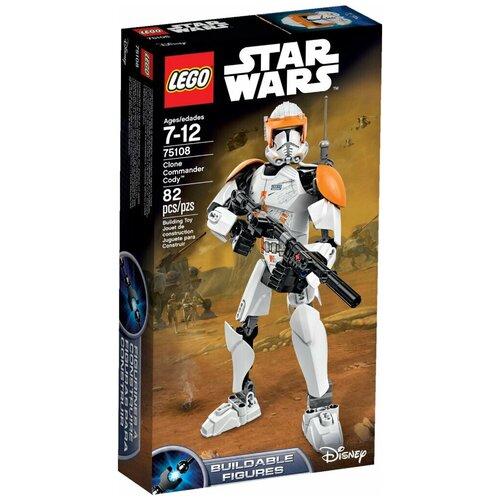 костюм клона командора коди star wars 36 38 Конструктор LEGO Star Wars 75108 Клон-коммандер Коди