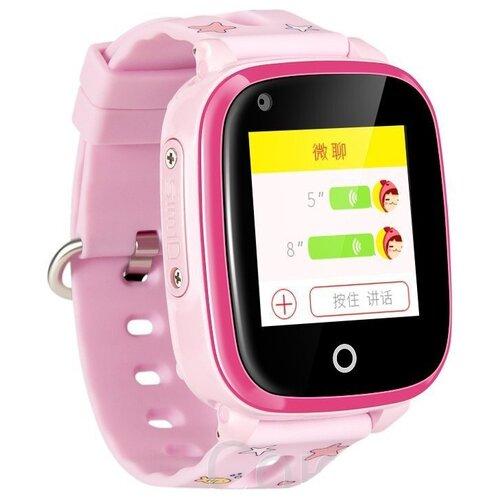 Детские умные часы Smart Baby Watch Q500 / DF33 / KT10, розовый детские умные часы c gps smart baby watch q500 df33 kt10 голубой
