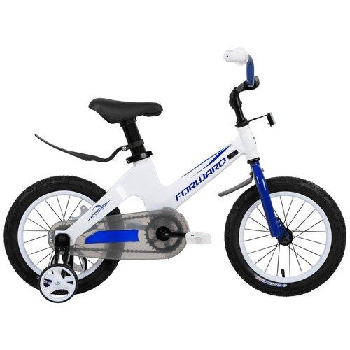 Детский велосипед FORWARD Cosmo 14 (2019) белый (требует финальной сборки) детский велосипед forward nitro 18 2020 оранжевый белый требует финальной сборки
