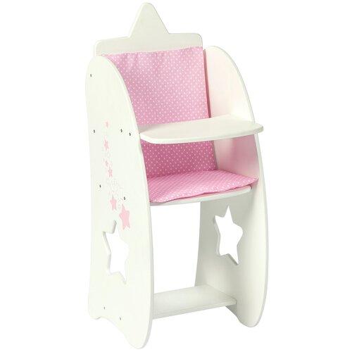 Фото - PAREMO Стульчик для кормления кукол Звездочка (PFD120-64/PFD120-66) белый paremo набор мебели для кукол цветок pfd120 45 pfd120 46 pfd120 44 pfd120 42 pfd120 43 белый фиолетовый