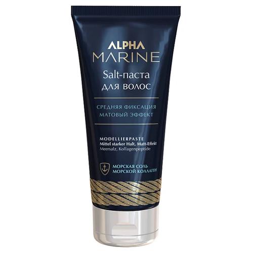 Estel Professional Alpha Marine Salt-паста для волос с матовым эффектом, средняя фиксация, 100 мл salt паста для волос с матовым эффектом alpha marine 100мл